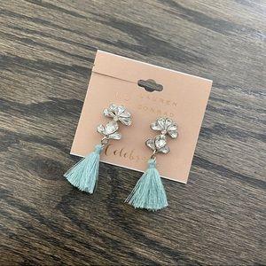 LC Lauren Conrad Celebrate Jewel Tassel Earrings